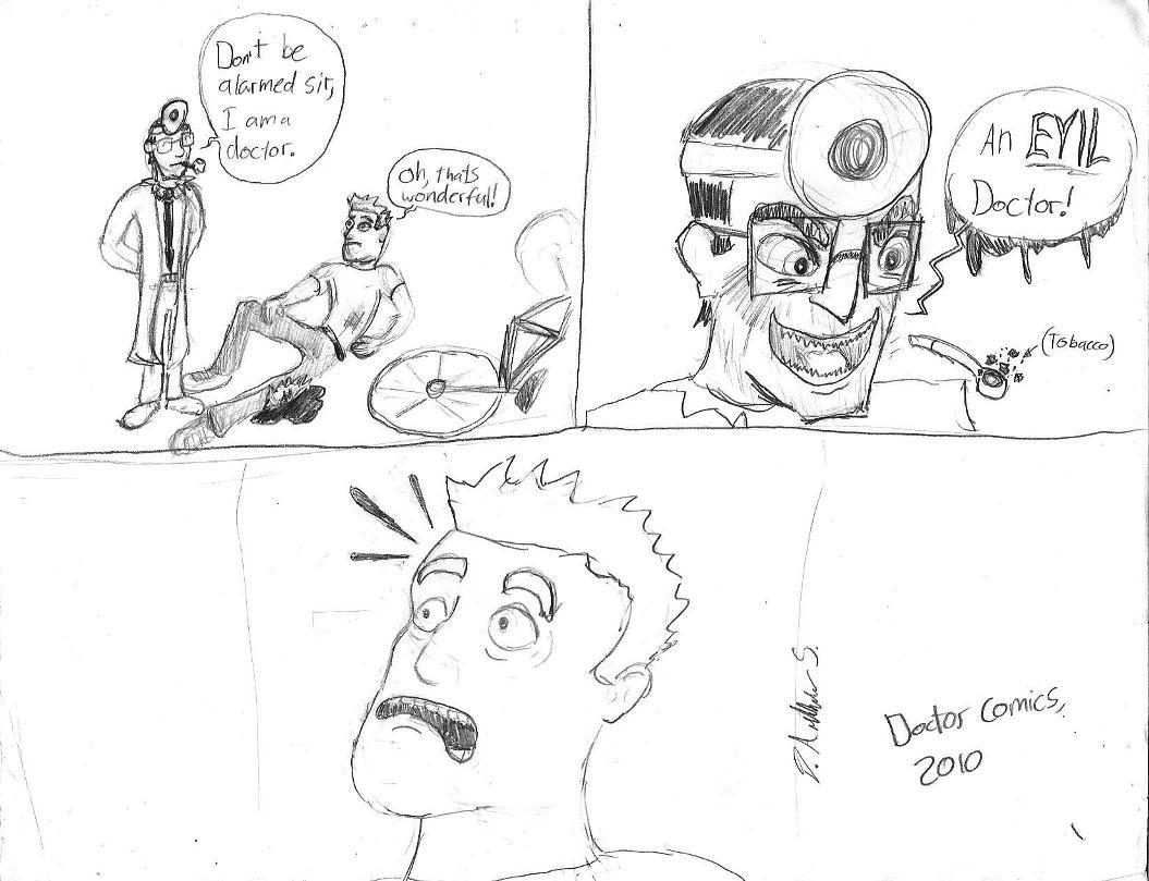 Doctor Comic 1