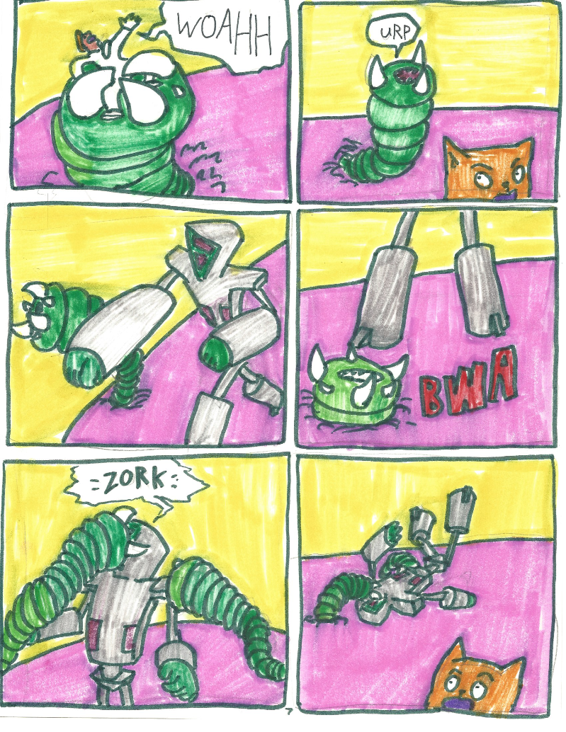 Space Punk Comic 007