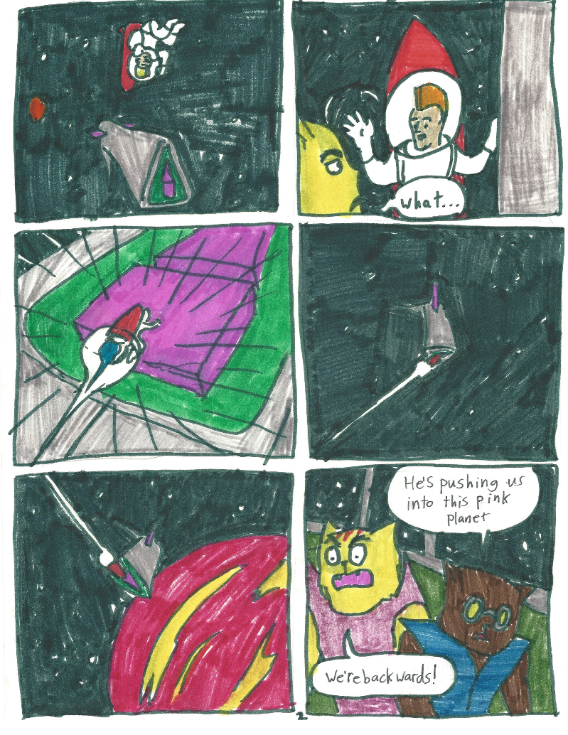 Space Punk Comic 002